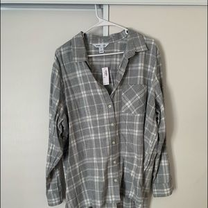 NWT Plaid Old Navy Flannel